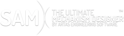 header_text Antriebsbewegung - SAM - The Ultimate Mechanism Designer - Artas Engineering